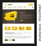 website template vector eps10 ...
