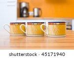 Three Cups Of Tea Close Up...