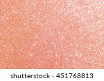 Stock photo rose gold glitter defocused abstract holidays lights on background 451768813