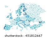 vector illustration of... | Shutterstock .eps vector #451812667