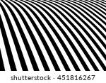 Abstract Black And White Curve...