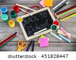 education and business concept. ...   Shutterstock . vector #451828447