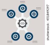 infographic design elements for ...   Shutterstock .eps vector #451849297