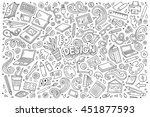 Line Art Vector Hand Drawn...