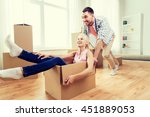 home  people  moving and real... | Shutterstock . vector #451889053