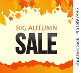Autumn Sale  Foliage  Banner....