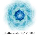 geometry of space series.... | Shutterstock . vector #451918087