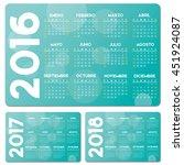 Spanish Turquoise Calendar 201...