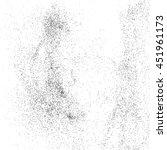 black grainy texture isolated... | Shutterstock .eps vector #451961173