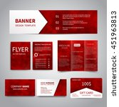 banner  flyers  brochure ... | Shutterstock .eps vector #451963813