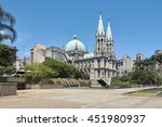 se cathedral in sao paulo btazil | Shutterstock . vector #451980937