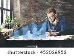 analysis analytics business... | Shutterstock . vector #452036953