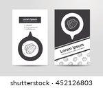 taro doodle | Shutterstock .eps vector #452126803