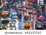 blurred image and color tone... | Shutterstock . vector #452137237