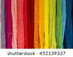 Colorful Of Silk Threads  Fron...