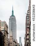 photo of empire state building... | Shutterstock . vector #452208643