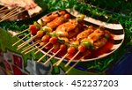 grilled barbecue made from pork ... | Shutterstock . vector #452237203