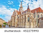 st. matthias church in budapest.... | Shutterstock . vector #452275993