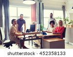 business  startup and people... | Shutterstock . vector #452358133