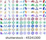 abstract vector icon design... | Shutterstock .eps vector #45241300