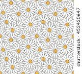 background pattern of flowers... | Shutterstock .eps vector #452420647