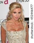 Small photo of Hollywood, CA, USA; February 26, 2012; Camille Grammer arrives to the 20th Annual Elton John AIDS Foundation Academy Awards Viewing Party.