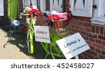 colourful cycle decoration  | Shutterstock . vector #452458027