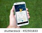 gilroy  california   july 14 ... | Shutterstock . vector #452501833