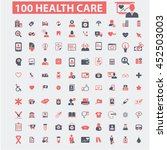 health care icons | Shutterstock .eps vector #452503003