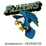 falcons air force team mascot   Shutterstock .eps vector #452544733