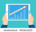 successful startup business... | Shutterstock .eps vector #452621023