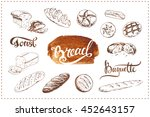 calligraphic inscriptions and... | Shutterstock .eps vector #452643157