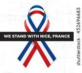 pray for nice  france. 14 july... | Shutterstock .eps vector #452696683