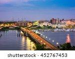 charleston  south carolina  usa ...   Shutterstock . vector #452767453