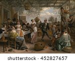 Jan Steen  By The Dancing...