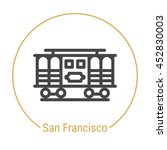 san francisco  united states ... | Shutterstock .eps vector #452830003