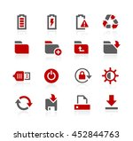 energy and storage vector icons | Shutterstock .eps vector #452844763