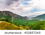 beautiful view in the mountains. | Shutterstock . vector #452857243