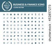 business and finance icon set...   Shutterstock .eps vector #452857273
