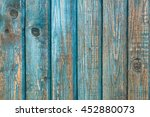 Old Blue Wooden Wall Texture
