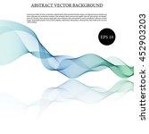 illustration vector abstract... | Shutterstock .eps vector #452903203