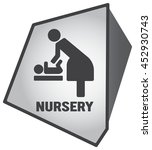 modern toilet set icon with... | Shutterstock .eps vector #452930743