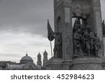 istanbul turkey  july 16th 2016 ... | Shutterstock . vector #452984623