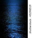 Blue Moon Light Reflection On...