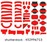 vector illustration of labels... | Shutterstock .eps vector #452996713