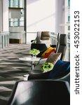 interior lounge  public area  | Shutterstock . vector #453022153