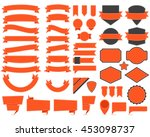 vector illustration of labels... | Shutterstock .eps vector #453098737