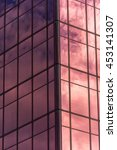 sky and clouds reflected in...   Shutterstock . vector #453141307