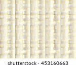 Abstract Gold Weave Pattern On...