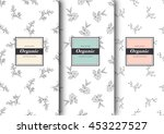 set of labels  packaging for...
